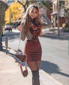 Cute Winter Outfits, Casual Winter Outfits, Winter Fashion Outfits, Look Fashion, Fashion Styles, Summer Outfits, Cute Christmas Outfits, Winter Outfits With Skirts, Outfits With Tights