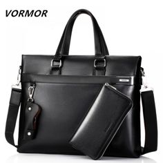 VORMOR Black Leather High Quality Messenger Bag  Price: 54.62 & FREE Shipping  #mensclothing|#mensfashion|#mensgifts|#accessories