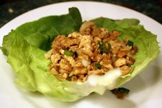Dinner Tonight: Minced Chicken in Lettuce Cups | Serious Eats : Recipes