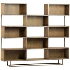 Otb Brown Burnt Oak Wood 71 Inch Bookcase ($1,295) ❤ liked on Polyvore featuring home, furniture, storage & shelves, bookcases, wood bookshelves, wooden furniture, brown bookcase, timber furniture and wooden bookcase