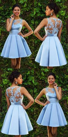 Sky Blue Homecoming Dresses,Lace Homecoming Dress,Sexy Homecoming Dresses,Short Prom Dress,Satin Cocktail Dresses Off the Shoulder Short Sleeves Simple Short Homecoming dresses Sexy Homecoming Dresses, Hoco Dresses, Dresses For Teens, Dance Dresses, Sexy Dresses, Summer Dresses, Wedding Dresses, Casual Dresses, Sky Blue Dresses