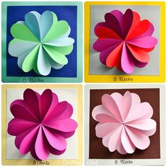 Imagine similară Cuadros Diy, 8 Martie, Quilling Craft, School Lessons, Paper Flowers, Origami, Marker, Cards, Handmade