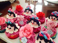 Cupcakes de muñeca
