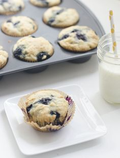 blueberrymuffins2 - good simple relatively healthy blueberry recipe