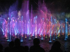 Colorful Water Show