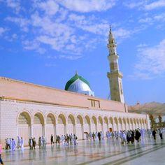 Nabawi Mosque, Madinah, Saudi Arabia.