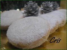 Las comiditas de Cris: Mantecados de almendra y coco