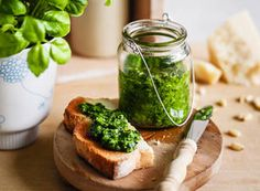 Pesto recipe Louise Fulton Keats