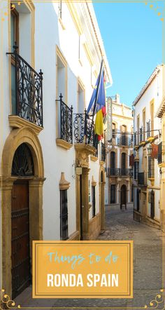 Even if you come to #RondaSpain just for a day, there are a few must-do things that you will have time for. Here they are. #Travel #TravelSpain #TravelAndalusia #TravelRonda #TravelEurope #ThingsToDoRondaSpain