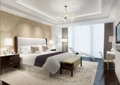 Langham Chicago Hotel room