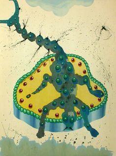 Scorpio by Salvador Dalí from Twelve Signs of the Zodiac, 1967