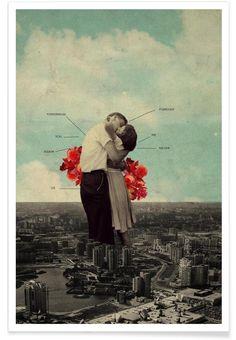 Never Forever en Affiche premium par Frank Moth | JUNIQE