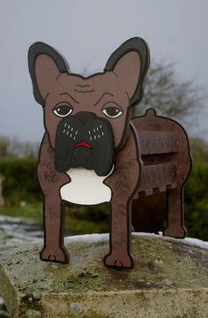 French Bulldog Planter Pet Pets Dog Dogs Garden by Phoenixcrafts52