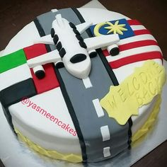 Airplane Cake Welcome Back Home Le Torte Di Michy