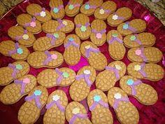 ...on the fridge!: Flip Flop Cookies