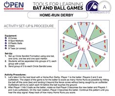 OPEN PhysEd Grades 3-5 Bat and Ball Games