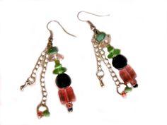 GlasPerlenSchaufenster Drop Earrings, Jewelry, Fashion, Shop Windows, Glass, Moda, Jewlery, Bijoux, La Mode
