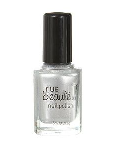 rue21 Silver Metallic Nail Polish. $3.99
