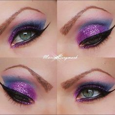 sexy purple arabic eye.