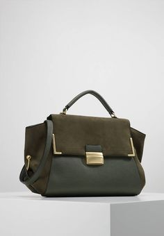 ROSA PLAIN - Handbag - khaki   Zalando.co.uk 🛒 69232284f