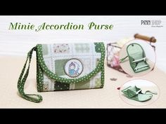 How to make a wallet / purse -  PART 1 of 2 /DIY Bag Vol 10A - YouTube