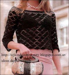ergahandmade: Crochet Sweater + Diagrams
