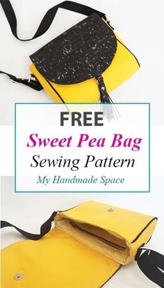 FREE Sweet Pea Bag Sewing Pattern