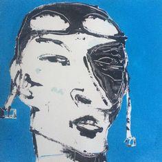 """Face IX"". 25x25 cm. Copenhagen 2015"