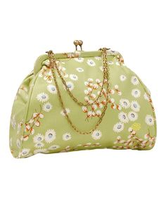 Love this Blue-Eyed Daisy Nora Organic Clutch by Amy Butler on #zulily! #zulilyfinds