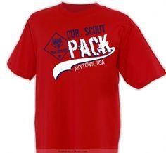 Retro Pack Shirt - Cub Scout™ Pack Design SP2229
