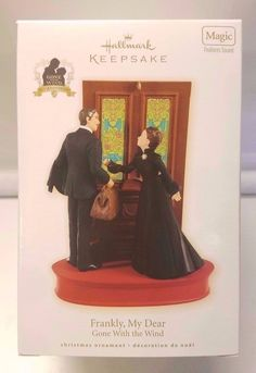 "NEW 2009 Hallmark Ornament Gone With The Wind Scarlett & Rhett ""Frankly, My Dear"" #Hallmark #GoneWithTheWind"