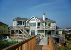 Twiddy Outer Banks Vacation Home - Duchess Of Whalehead - Corolla - Oceanfront - 6 Bedrooms