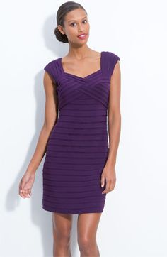 Adrianna Papell Pleated Sheath Dress available at Nordstrom Mom Dress, Groom Outfit, Adrianna Papell, Nordstrom Dresses, Formal Dresses, Women's Dresses, Party Dress, Bodycon Dress, Fashion Outfits