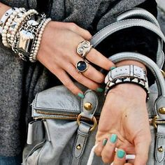 jewels and nails