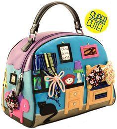 197e351e18e8 Hermoso rincón de lectura Unique Bags, Unique Purses, Cute Purses, Handmade  Bags,