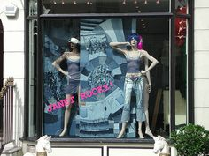 denim window display - Google Search