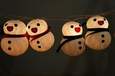 1 Set Lighting String 20 Snowman Craft Lights Set Lamp Decorationb Chirstmas New Year Thanks Giving Garland Patio Home Living Room Yard  Garden Indoor and Outdoor for Your Special Events and Parties * You can find more details by visiting the image link.