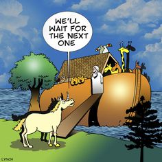 The Unicorns and Noah's ark - 10 hilarious pictures/theories