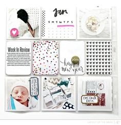 LOTW I Beshka #projectlife #scrapbook