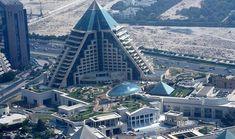 Raffles Dubai in Wafi city Dubai, UAE - 50 Strange Buildings of the World (Part II) Unusual Buildings, Amazing Buildings, Unusual Houses, Famous Buildings, Dubai City, Dubai Uae, Dubai Trip, Bur Dubai, Viajes