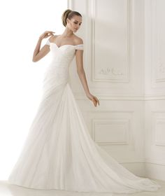 Moda Ślubna 2015 Wedding Trends  Off The Shoulder
