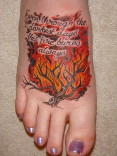 "Killswitch Engage Tattoo - Inspired by the same lyrics to ""This Fire"" as the next tattoo I'm getting!"