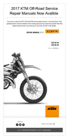1991 1995 ktm 250 300 two stroke motorcycle engine service 2017 ktm off road service repair manuals now avalible fandeluxe Images