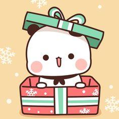 Cute Panda Drawing, Cute Bear Drawings, Kawaii Drawings, Cute Desktop Wallpaper, Kawaii Wallpaper, Mochi, Chibi Cat, Little Panda, Manga Cute