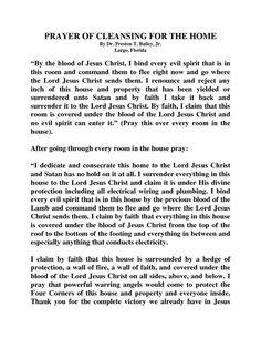 images of spititual warfare prayers - Yahoo Search Results. Home cleansing prayer Prayer Scriptures, Bible Prayers, Catholic Prayers, Faith Prayer, God Prayer, Power Of Prayer, Prayer Quotes, Prayer Room, Prayer Closet