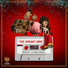 """We're not sorry for introducing you to """"The Apology Song"""" by La Santa Cecilia from The Book of Life soundtrack! Check it out! http://fox.co/TBOLApologySong"""