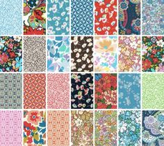 Fabric: Liberty Lifestyle Bloomsbury Gardens · Quilting | CraftGossip.com