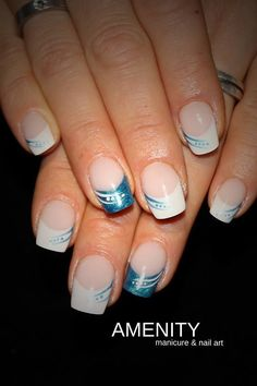 Picture result for nailart french - Nail Art Model How To Do Nails, Fun Nails, Pretty Nails, French Nail Designs, Gel Nail Designs, French Nails, Nailart French, French Manicures, Nails Factory