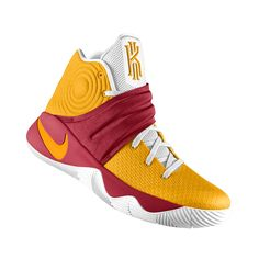 more photos 26c29 9296b I designed the gold, cardinal red and white USC Trojans Nike men s  basketball shoe.