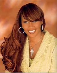 Yolanda Adams.  Very inspirational music, this is how I start most of my days.
